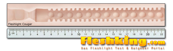 Fleshlight Cougar Kanal Länge