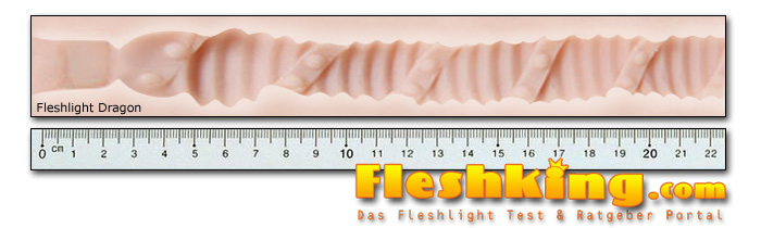 Fleshlight Dragon Kanal Länge