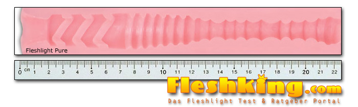 Fleshlight Pure Kanal Länge
